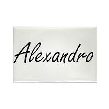 Alexandro Artistic Name Design Magnets