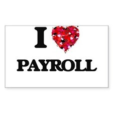 I Love Payroll Decal