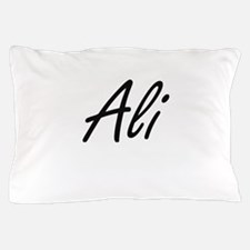 Ali Artistic Name Design Pillow Case