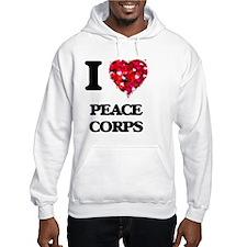 I Love Peace Corps Hoodie