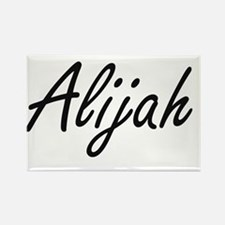 Alijah Artistic Name Design Magnets