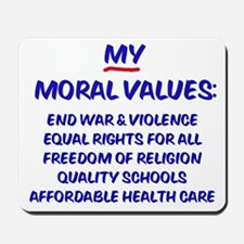 My Moral Values Mousepad