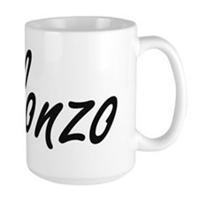 Alonzo Artistic Name Design Mugs