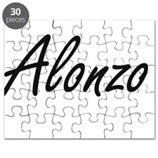 Alonzo Artistic Name Design Puzzle