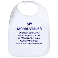 My Moral Values Bib