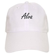 Alva Artistic Name Design Baseball Baseball Cap