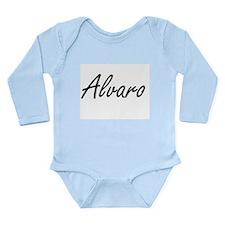 Alvaro Artistic Name Design Body Suit