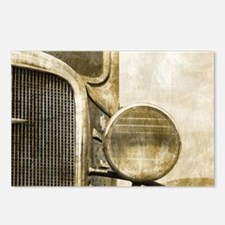 rusty vintage farm truck Postcards (Package of 8)