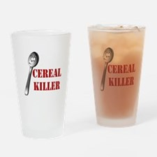 Cute Cereal killer Drinking Glass