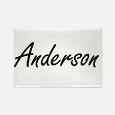 Anderson Artistic Name Design Magnets