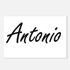 Antonio Artistic Name Des Postcards (Package of 8)