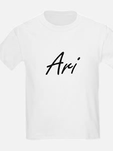 Ari Artistic Name Design T-Shirt