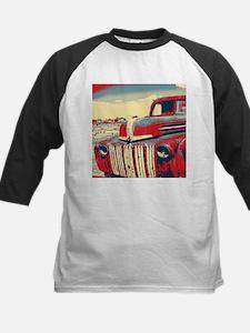 cool retro old truck Baseball Jersey