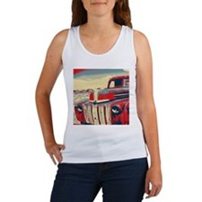 cool retro old truck Tank Top