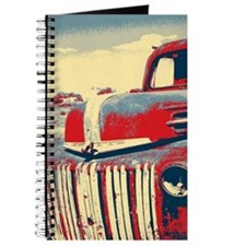 Americana retro old truck Journal