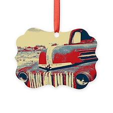 Americana retro old truck Ornament