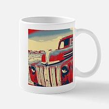 Americana retro old truck Mugs