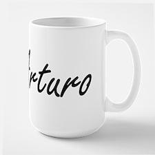 Arturo Artistic Name Design Mugs