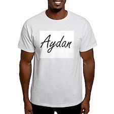Aydan Artistic Name Design T-Shirt
