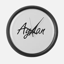 Aydan Artistic Name Design Large Wall Clock