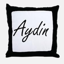 Aydin Artistic Name Design Throw Pillow