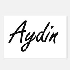 Aydin Artistic Name Desig Postcards (Package of 8)