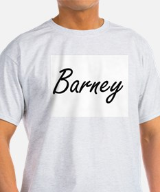 Barney Artistic Name Design T-Shirt