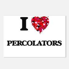 I Love Percolators Postcards (Package of 8)