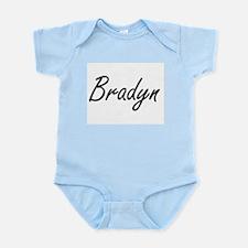 Bradyn Artistic Name Design Body Suit