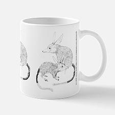 Bilby (Macrotis lagotis) Small Mugs