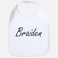 Braiden Artistic Name Design Bib