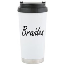 Braiden Artistic Name D Travel Mug