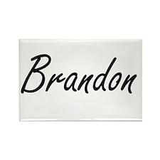 Brandon Artistic Name Design Magnets