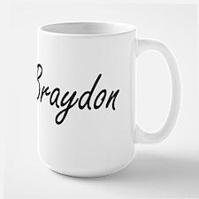 Braydon Artistic Name Design Mugs
