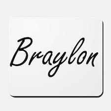 Braylon Artistic Name Design Mousepad