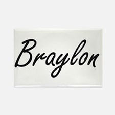Braylon Artistic Name Design Magnets