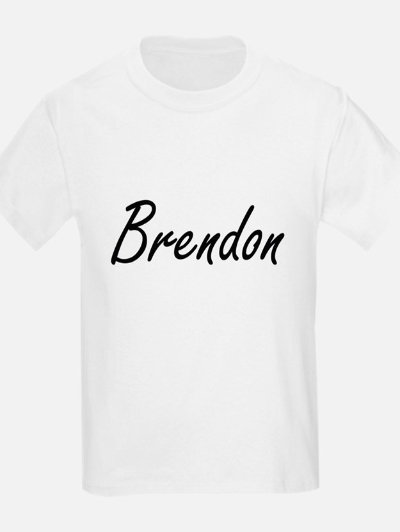 Brendon Artistic Name Design T-Shirt
