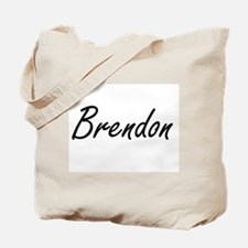 Brendon Artistic Name Design Tote Bag