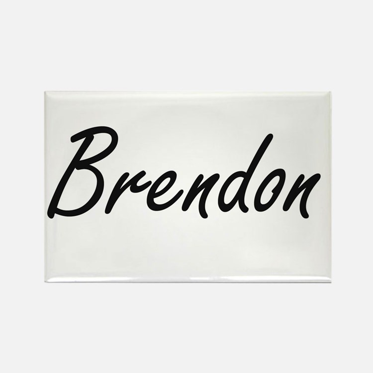 Brendon Artistic Name Design Magnets