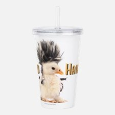 Funny Chick Acrylic Double-wall Tumbler