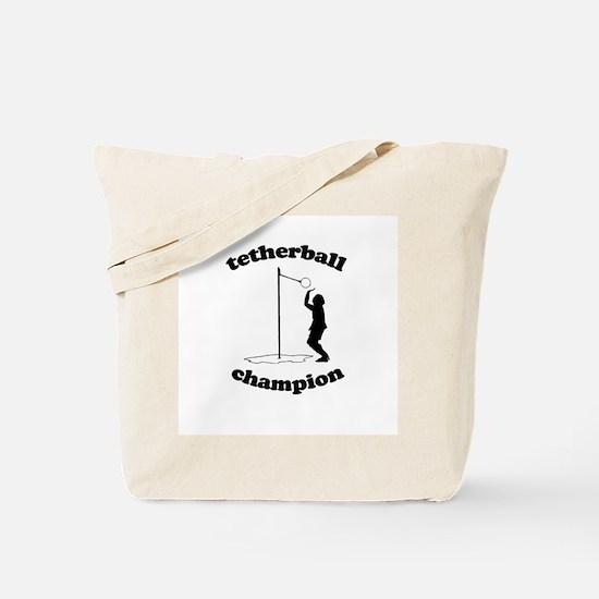Tetherball champion -  Tote Bag