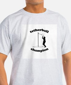Tetherball champion -  Ash Grey T-Shirt