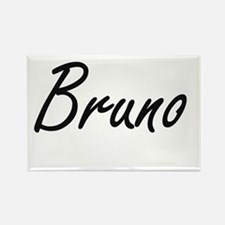 Bruno Artistic Name Design Magnets