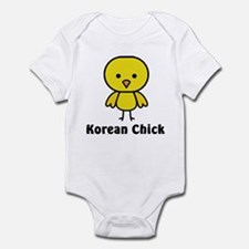 Korean Chick Infant Bodysuit