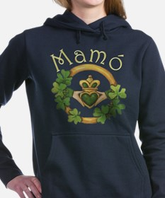 Cute Irish grandmother Women's Hooded Sweatshirt