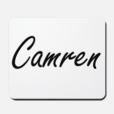 Camren Artistic Name Design Mousepad