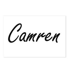 Camren Artistic Name Desi Postcards (Package of 8)
