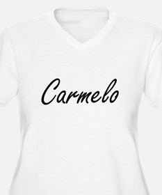 Carmelo Artistic Name Design Plus Size T-Shirt