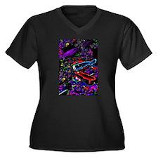 Neon Koi Plus Size T-Shirt
