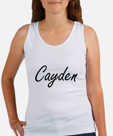 Cayden Artistic Name Design Tank Top